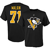 NHL Youth Pittsburgh Penguins Evgeni Malkin #71 Black Player T-Shirt