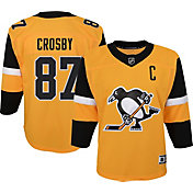 NHL Youth Pittsburgh Penguins Sidney Crosby #87 Premium Alternate Jersey