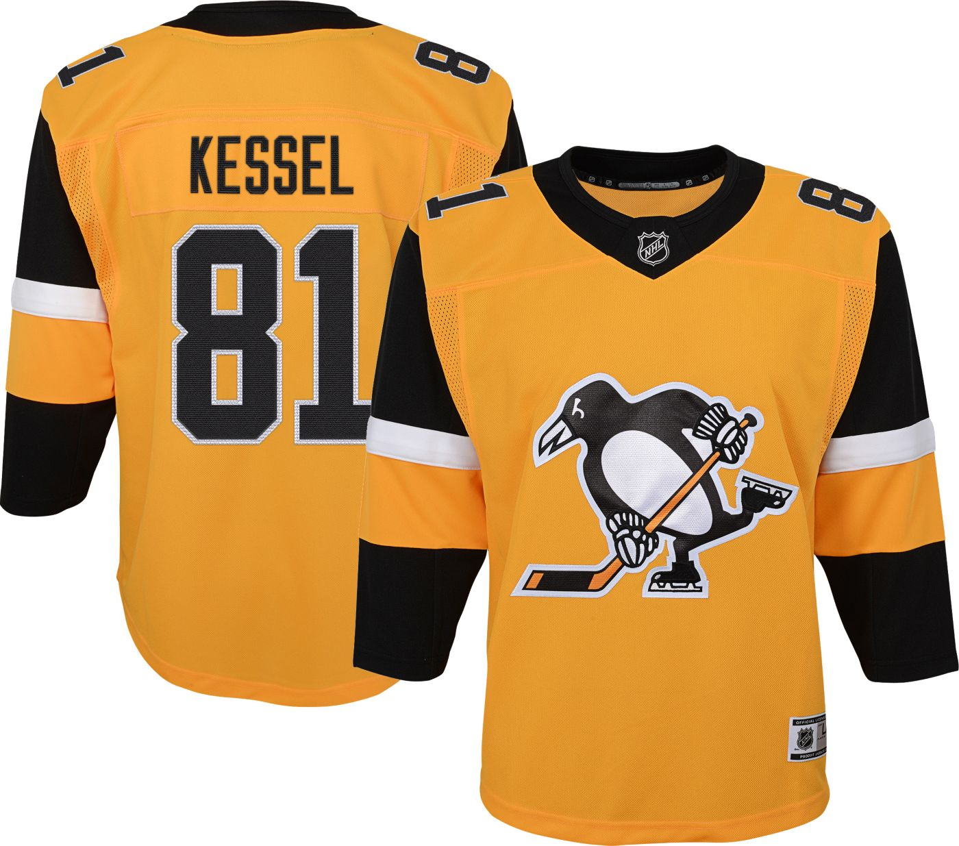 NHL Youth Pittsburgh Penguins Phil Kessel #81 Premium Alternate Jersey