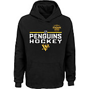 NHL Youth 2019 Stadium Series Pittsburgh Penguins Locker Room Black Hoodie