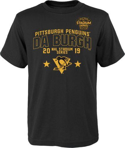NHL Youth 2019 Stadium Series Pittsburgh Penguins Local Black T-Shirt.  noImageFound 6c9c60064