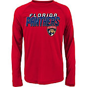NHL Youth Florida Panthers Rink Bound Red Long Sleeve Shirt
