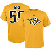 NHL Youth Nashville Predators Roman Josi #59 Gold Player T-Shirt