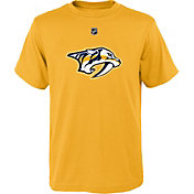 NHL Youth Nashville Predators Logo Gold T-Shirt