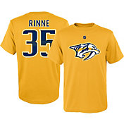 NHL Youth Nashville Predators Pekka Rinne #35 Gold T-Shirt