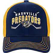 Product Image · NHL Youth Nashville Predators Basic Strucutred Navy  Adjustable Hat b27526622995
