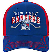 promo code eab15 d4693 Product Image · NHL Youth New York Rangers Basic Strucutred Blue Adjustable  Hat