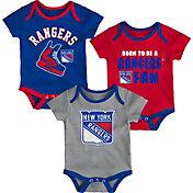 NHL Infant New York Rangers Onesie Set