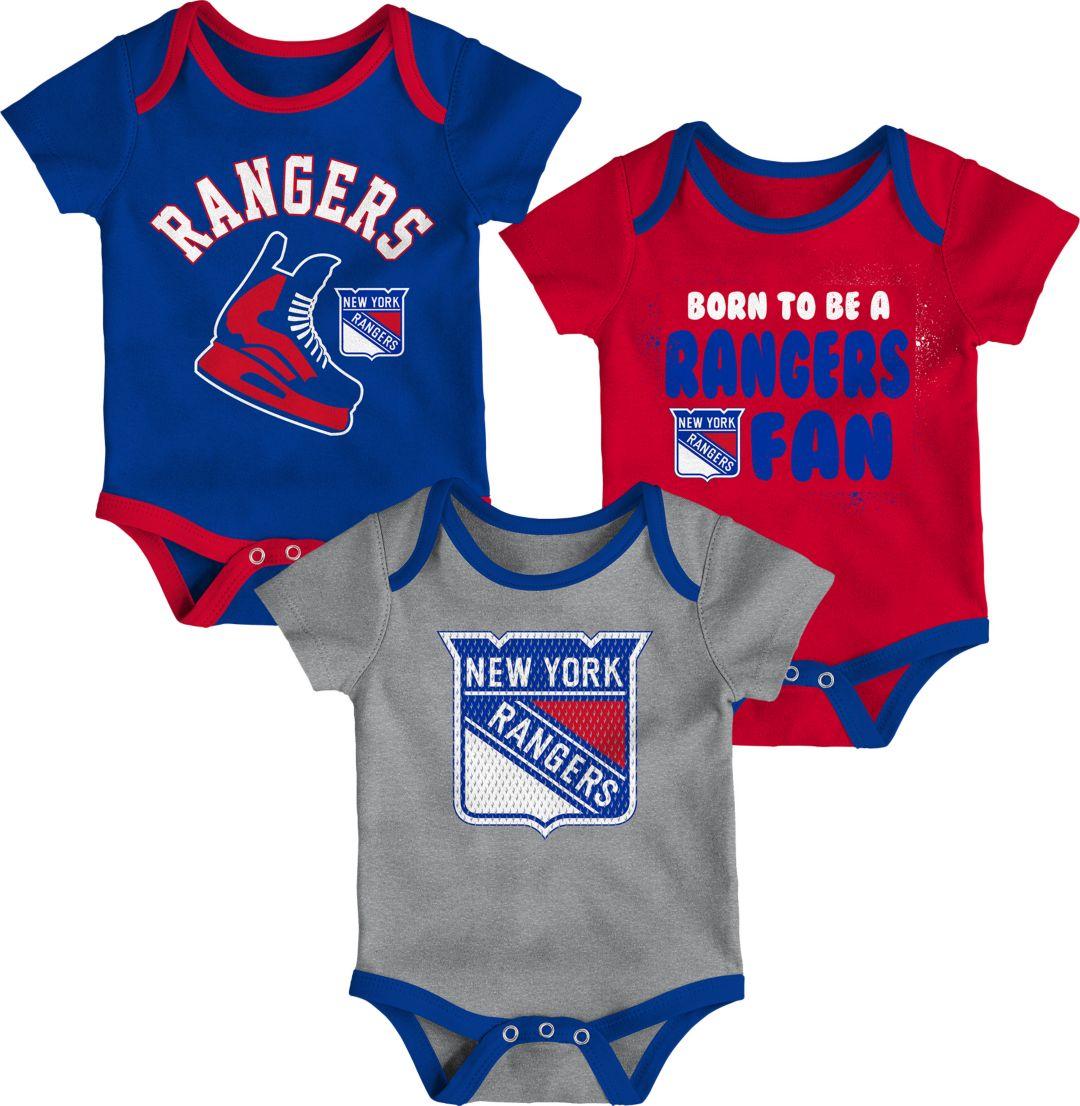 043bb03f1df NHL Infant New York Rangers Onesie Set | DICK'S Sporting Goods