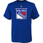 NHL Youth New York Rangers Primary Logo Royal T-Shirt
