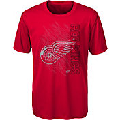 NHL Youth Detroit Red Wings Resolution Red T-Shirt