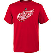 NHL Youth Detroit Red Wings Primary Logo Red T-Shirt
