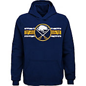 NHL Youth Buffalo Sabres Honor Lines Navy Hoodie