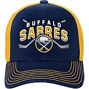NHL Youth Buffalo Sabres Basic Strucutred Navy Adjustable Hat