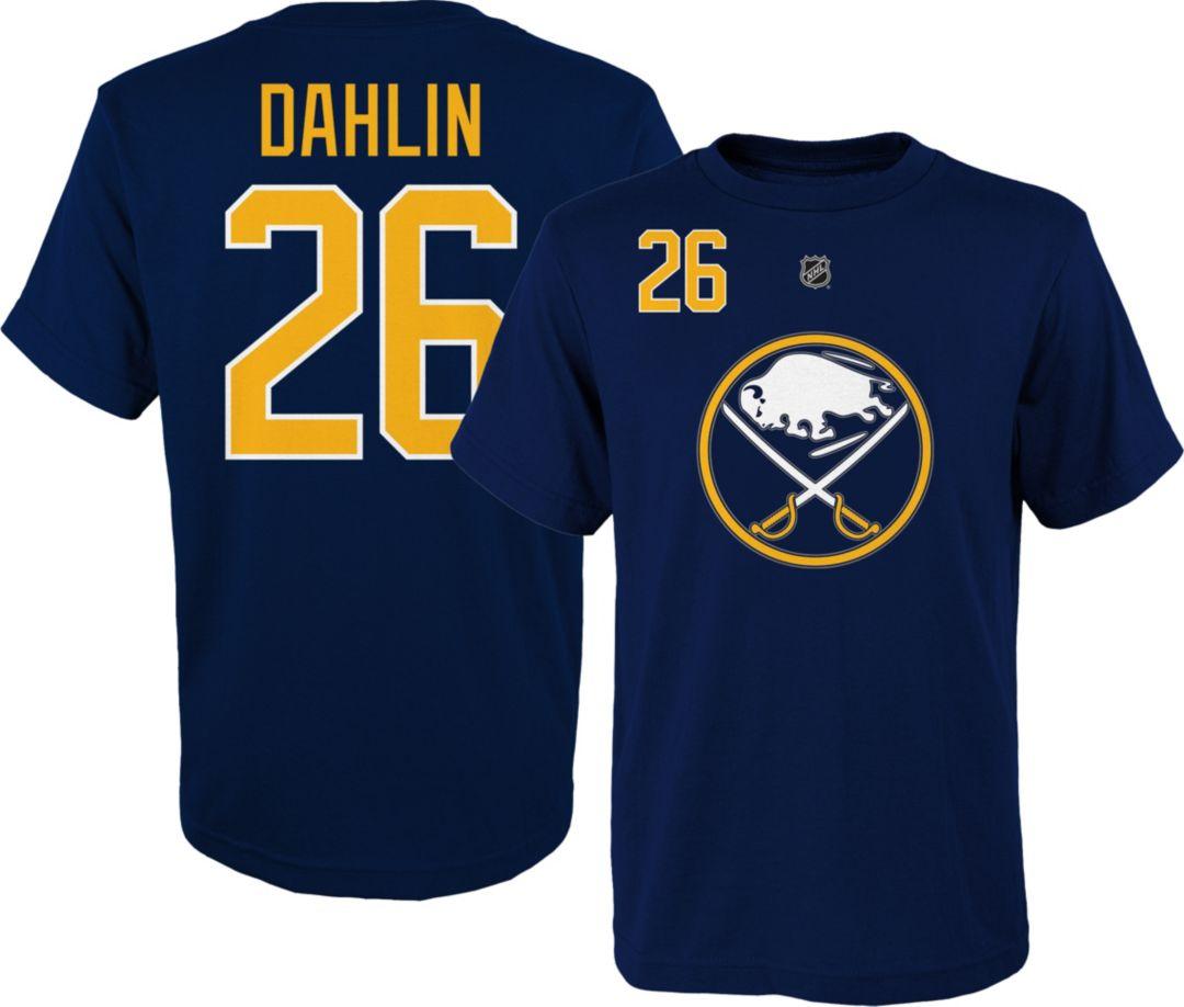 new product 87fac 78afa NHL Youth Buffalo Sabres Rasmus Dahlin #26 Navy Player T-Shirt