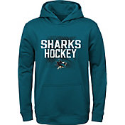 NHL Youth San Jose Sharks Attitude Teal Pullover Hoodie