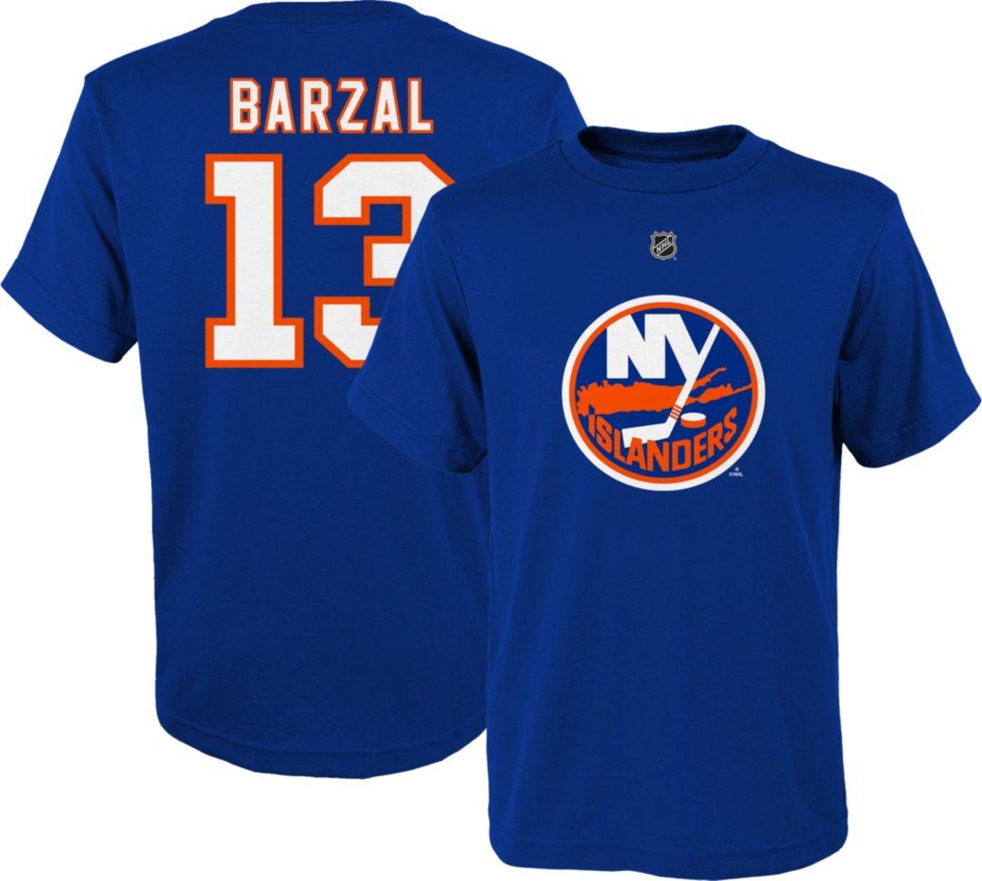 huge selection of dc101 b1b5b NHL Youth New York Islanders Matthew Barzal #13 Royal Player T-Shirt
