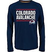 NHL Youth Colorado Avalanche Shootout Maroon Long Sleeve Shirt