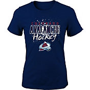 NHL Youth Colorado Avalanche Colossal Navy T-Shirt