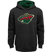 NHL Youth Minnesota Wild Prime Black Hoodie