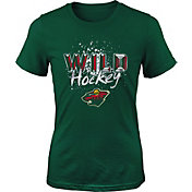 NHL Youth Minnesota Wild Colossal Green T-Shirt