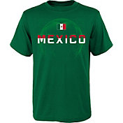 Outerstuff Youth Mexico Penalty Kick Gree T-Shirt