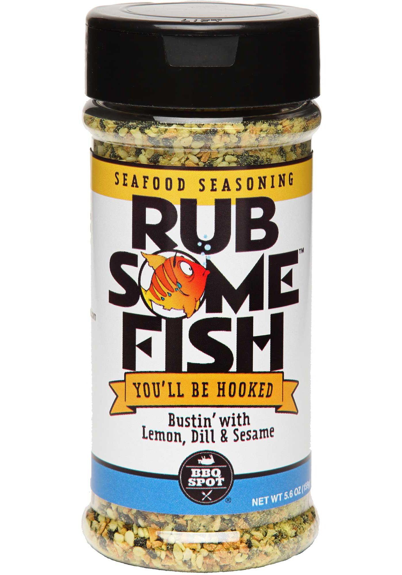 Rub Some Fish Seafood Seasoning