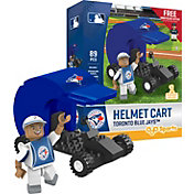 OYO Toronto Blue Jays Batting Helmet Cart Figurine Set