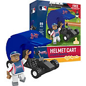 OYO Atlanta Braves Batting Helmet Cart Figurine Set