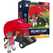 OYO St. Louis Cardinals Batting Helmet Cart Figurine Set