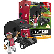 OYO Arizona Diamondbacks Batting Helmet Cart Figurine Set