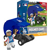 OYO Los Angeles Dodgers Batting Helmet Cart Figurine Set