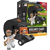 OYO San Francisco Giants Batting Helmet Cart Figurine Set