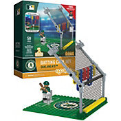 OYO Oakland Athletics Batting Cage Figurine Set