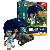 OYO Seattle Mariners Batting Helmet Cart Figurine Set