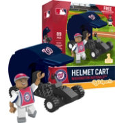 OYO Washington Nationals Batting Helmet Cart Figurine Set