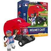 OYO Philadelphia Phillies Batting Helmet Cart Figurine Set