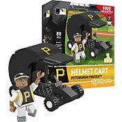 OYO Pittsburgh Pirates Batting Helmet Cart Figurine Set