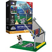 OYO Colorado Rockies Batting Cage Figurine Set