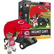 OYO Cincinnati Reds Batting Helmet Cart Figurine Set