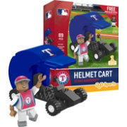 OYO Texas Rangers Batting Helmet Cart Figurine Set