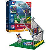 OYO Texas Rangers Batting Cage Figurine Set