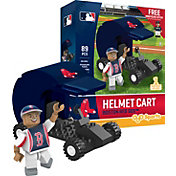 OYO Boston Red Sox Batting Helmet Cart Figurine Set