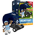 OYO Tampa Bay Rays Batting Helmet Cart Figurine Set