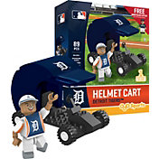 OYO Detroit Tigers Batting Helmet Cart Figurine Set