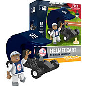 OYO New York Yankees Batting Helmet Cart Figurine Set