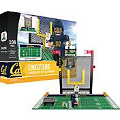 OYO Cal Golden Bears Team Logo End Zone Minifigure Set