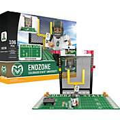 OYO Colorado State Rams Team Logo End Zone Minifigure Set