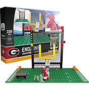 OYO Georgia Bulldogs Team Logo End Zone Minifigure Set