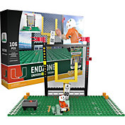 OYO Miami Hurricanes Team Logo End Zone Minifigure Set